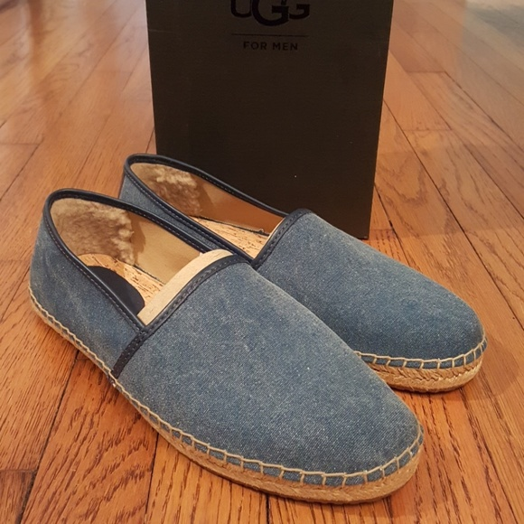a442d0299aa New Ugg Kas II Pure Lined Espadrille Slip Ons NWT